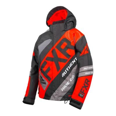 Куртка FXR CX с утеплителем Black/Nuke Red/Char 190423-1023