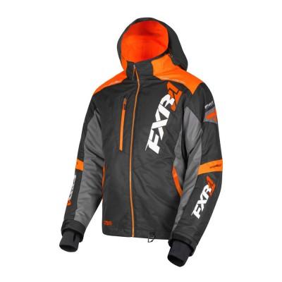 Куртка FXR Mission FX с утеплителем Black/Orange/Char 190031-1030