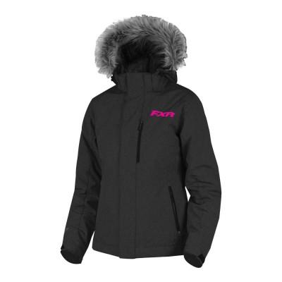 Куртка FXR Northward с утеплителем Black/Fuchsia 191005-1090