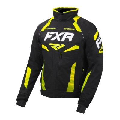 Куртка FXR Octane с утепленной вставкой Black/Hi Vis 200003-1065