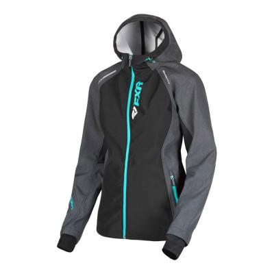 Куртка FXR Pulse без утеплителя Char Heather/Mint 191006-0652
