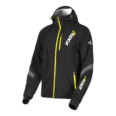 Куртка FXR Renegade без утеплителя Black/Hi Vis 190907-1065