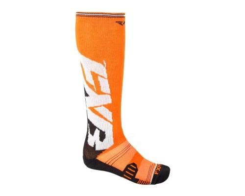 Носки FXR Clutch Performance Orange/Black 181610-3010