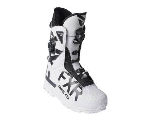 Ботинки FXR Helium Pro BOA с утеплителем White/Black 190702-0110