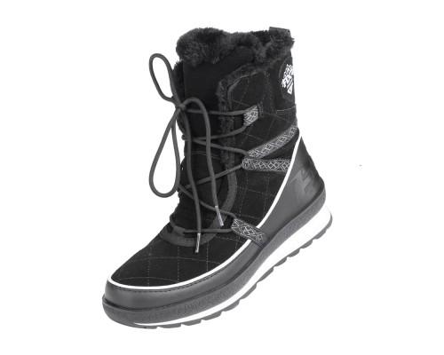 Ботинки FXR Pulse с утеплителем Black/White 190714-1001