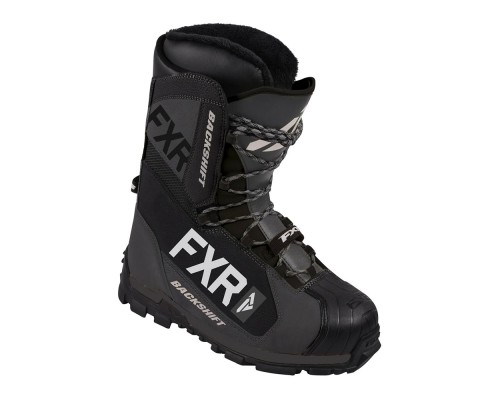 Ботинки FXR Backshift с утеплителем Black/Char 190715-0810