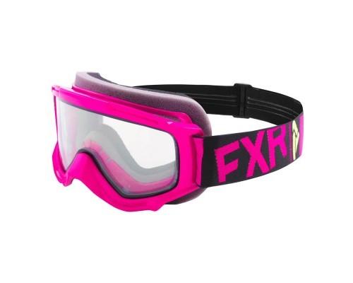 Очки FXR Throttle Fuchsia/Black/Hi Vis 183130-9065