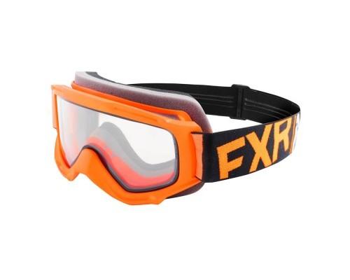 Очки FXR Throttle Orange/Black/White 183130-3010