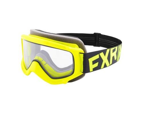 Очки FXR Throttle Hi Vis/Black 183130-6510