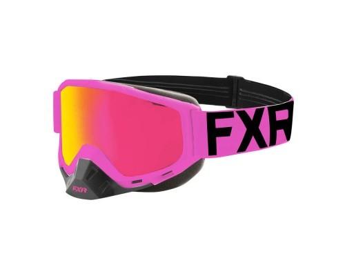 Очки FXR Boost Elec Pink/Black 193100-9410