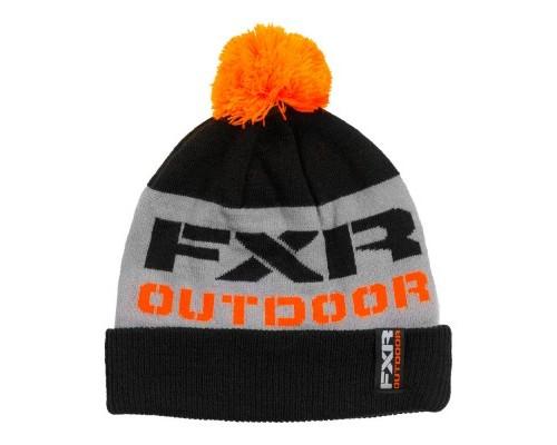 Шапка FXR Excursion Wool Black/Orange 181614-1030
