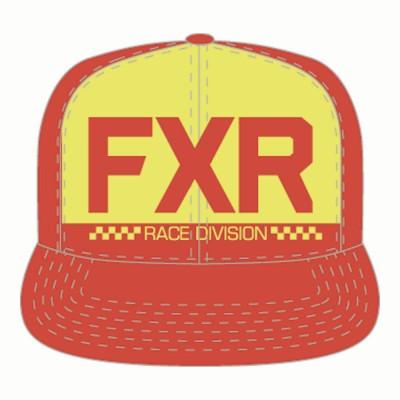 Бейсболка FXR Helium Red/Hi Vis 191604-2065