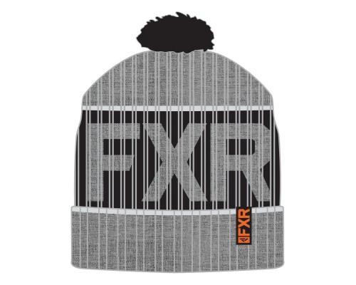 Шапка FXR Excursion Grey Heather/Orange 201648-0730