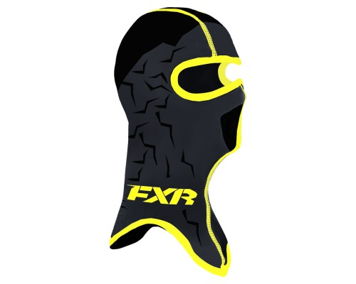 Балаклава FXR Shredder Frostbite Block Black/Hi Vis 191638-1065