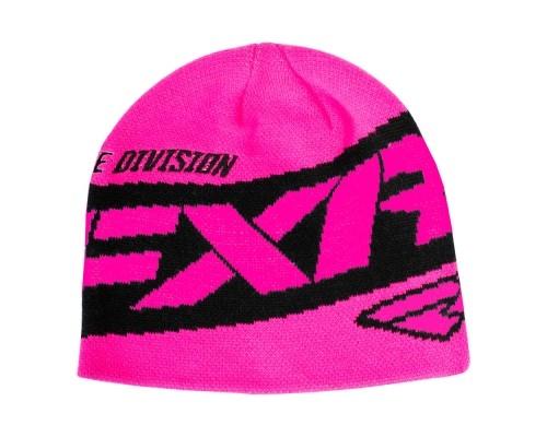 Шапка FXR Podium Elec Pink 191614-9400