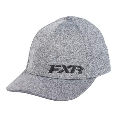Бейсболка FXR Grey Heather/Red 181902-0720