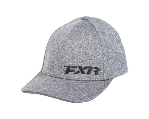 Бейсболка FXR Grey Heather/Red 181902-0720