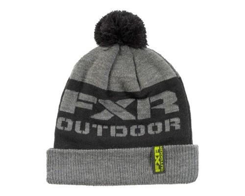 Шапка FXR Excursion Wool Grey Heather/Black 181614-0610
