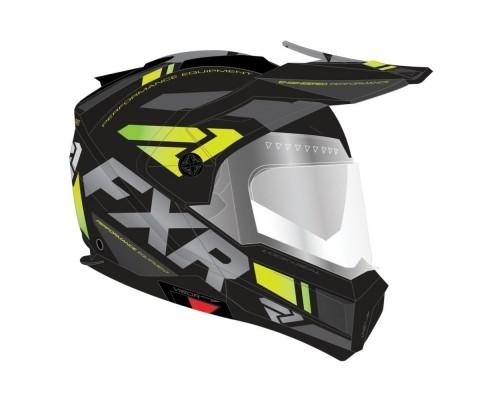 Шлем с подогревом визора FXR Maverick Team 200624-1065