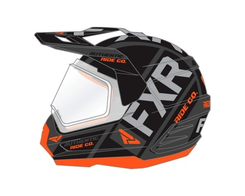 Шлем FXR Torque X Evo Black/Orange/Char 190610-1030