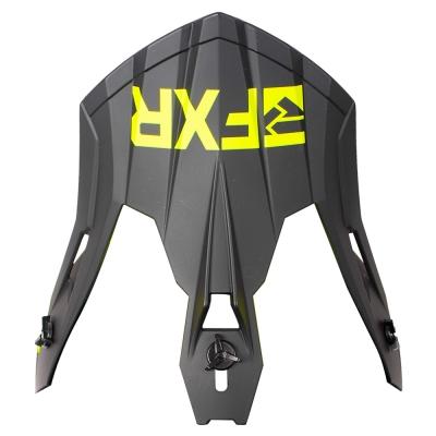 Козырек FXR Helium Carbon Black/Hi Vis 191701-1065