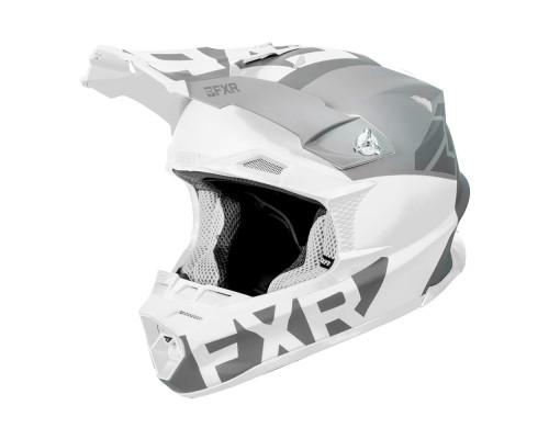 Шлем FXR Blade 2.0 Helium White/Grey 190608-0105