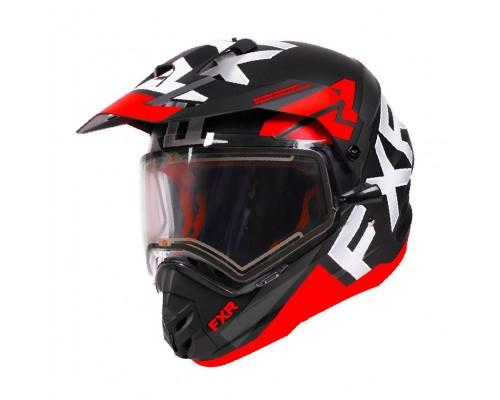 Шлем с подогревом визора FXR Torque X Evo 200622-1020 _UC