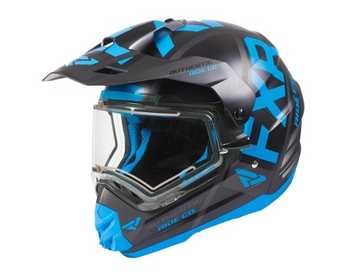 Шлем FXR Torque X Evo Blue/Black 190610-4010