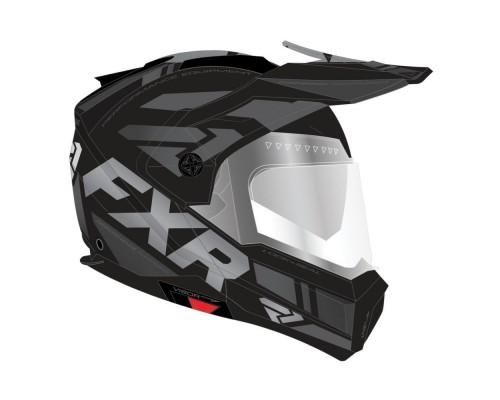 Шлем с подогревом визора FXR Maverick Team 200624-1010