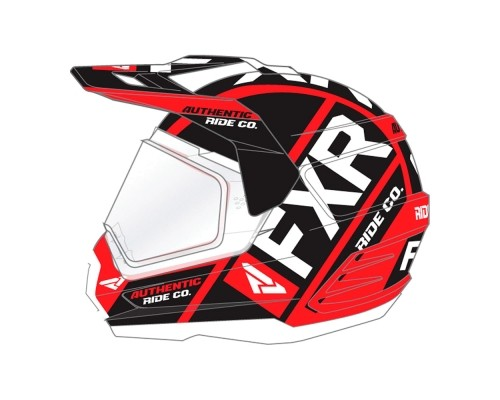 Шлем FXR Torque X Evo Red/Black/White 190610-2010