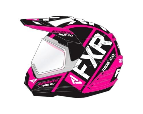 Шлем FXR Torque X Evo Fuchsia/Black 190610-9010