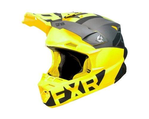 Шлем FXR Blade 2.0 Helium Black/Hi Vis 190608-1065