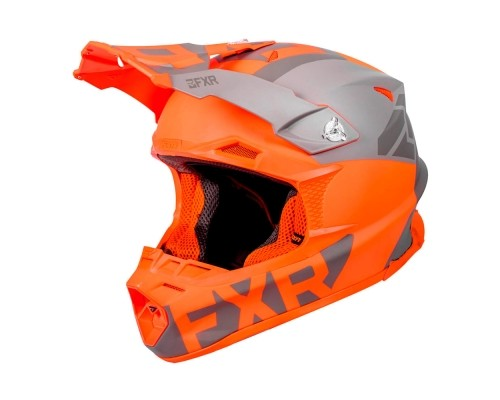 Шлем FXR Blade 2.0 Helium Flo Orange/Grey/Char 190608-3305