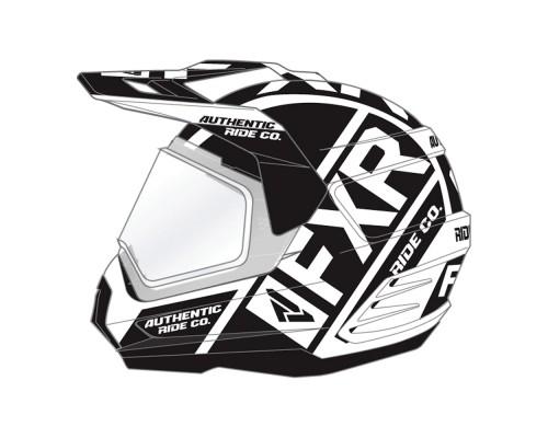 Шлем FXR Torque X Evo White/Black 190610-0110