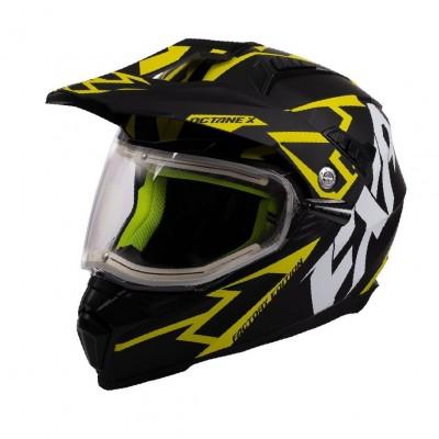 Шлем с подогревом визора FXR Octane X Deviant