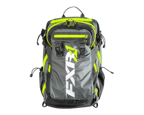 Рюкзак FXR Ride Black/Char/Hi-Vis 183202-1065